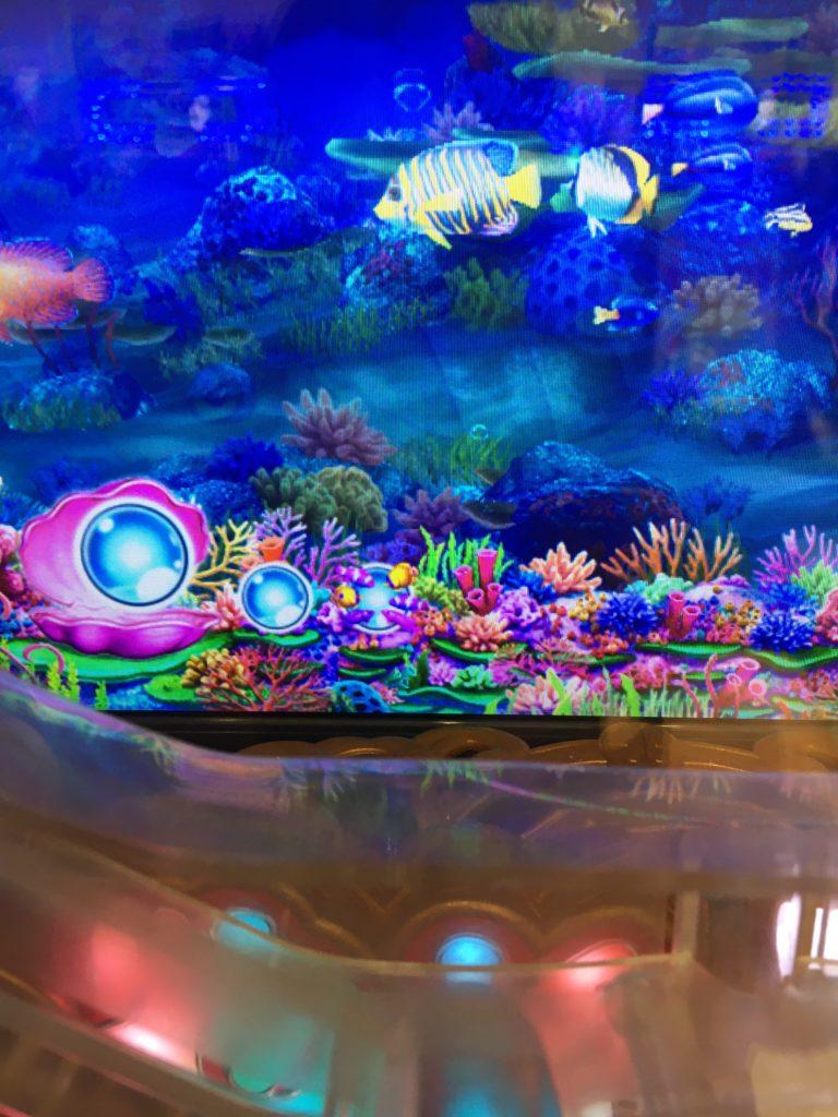 【海物語 IN JAPAN 319バージョン】魚群保留