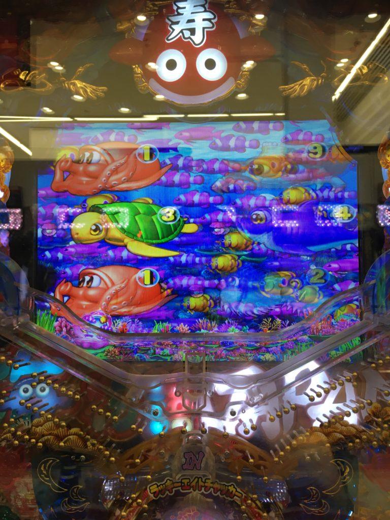 【海物語 IN JAPAN 319バージョン】魚群